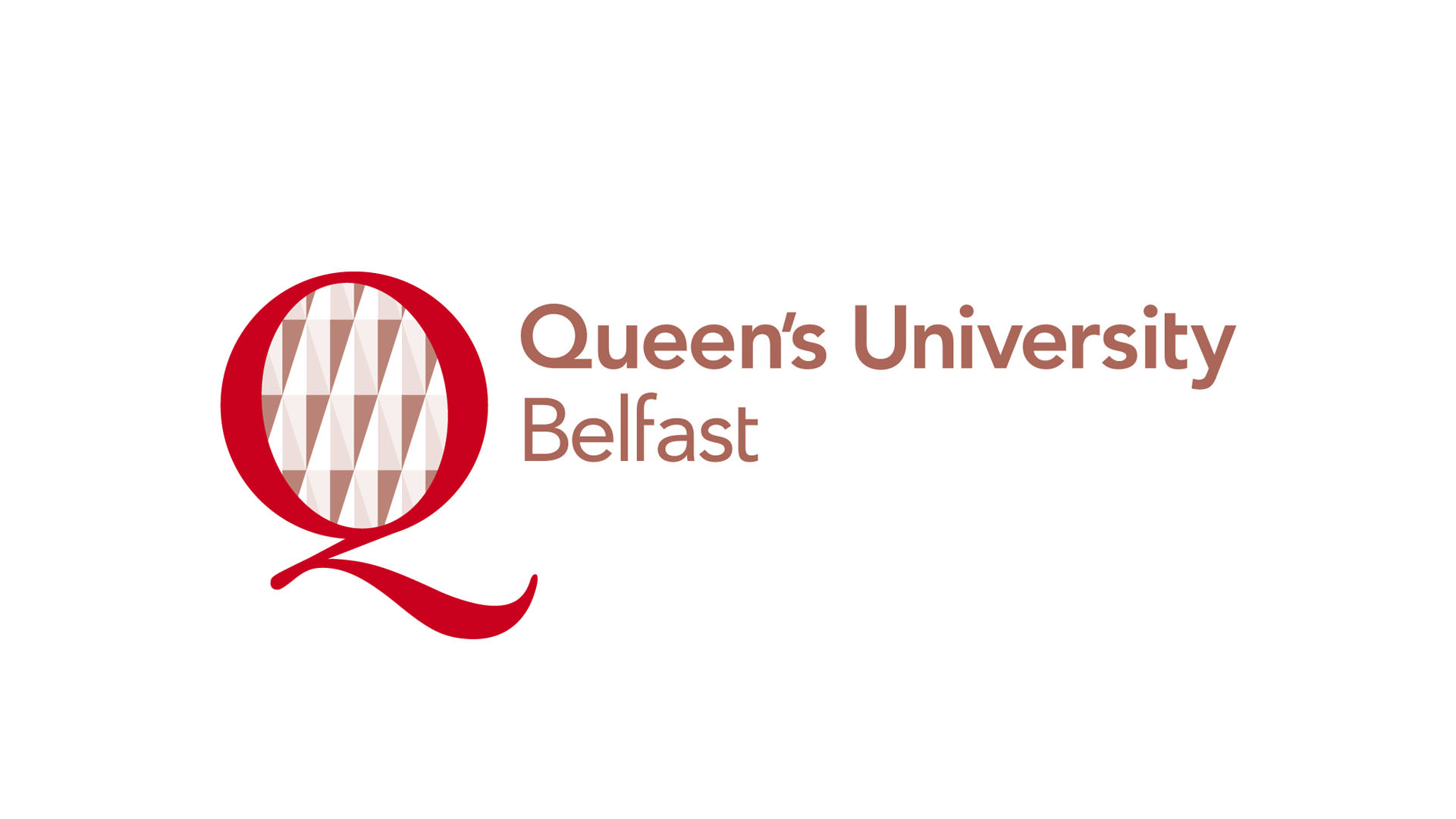 Queens University Belfast Logo Riverridge
