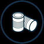 riverridge dmr icon metal cans